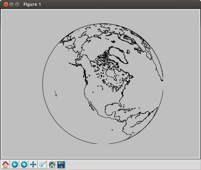 Map drawn from outdated matplotlib Basemap